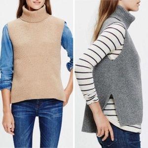 Madewell 100% Merino Wool Turtleneck Sleeveless S